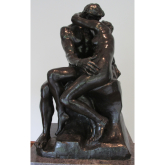 Rodin's Kiss on display from Valentine's Day