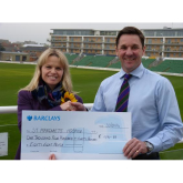 Somerset County Cricket Club Helps to Raise Nearly £1500 for  Charity