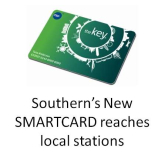 Smarter travel with the new KEY card from Southern trains