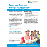 Youth Employment in Huntingdonshire / Cambridgeshire