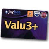 The Jaybee Motors Valu3+ Discount Card