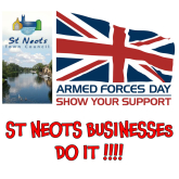 Local Businesses Sign Up to Support St Neots Armed Forces Day