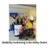 New Mayor Supports Seeability's Fundraising @ashley_centre
