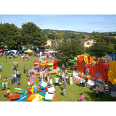 All the fun of the fete at Charlton Kings!