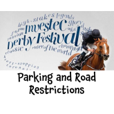 The Derby Weekend – Parking and Road Closures – don't get caught out @epsomewellbc  #epsomderby