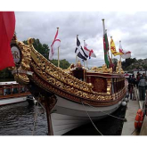 Have your say on the future of Gloriana, the Queen's Rowbarge
