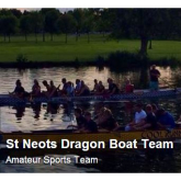 St.Neots Dragon Boat Team Raise Money for Addenbrookes in Thames Marathon.