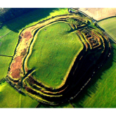 Art exhibition captures human connection with Shropshire hillfort