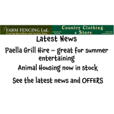 Latest News and Offers from Farm Fencing – Country Clothing & Store @jonthefence @countryfootwear
