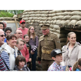 Family Fun at Staffordshire Regiment Museum in Lichfield