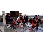 Extreme Cellists Reach New Heights At Cathedral