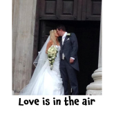 Love is in the air for The Personal Agents in Epsom @personalagentUK #weddingday