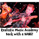 Epsom Realistic Music Academy - Back With A Bang @realisticrock #rockmusic