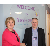 The Purple Property Shop offers support to Bury Hospice