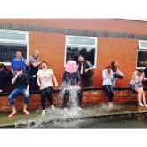 Alliance Learning take part in the ice bucket challenge