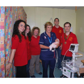 Epsom Rotaract present equipment to Epsom Medical Equipment Fund @epsom_rotaract @epsom_sthelier