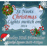 St Neots Christmas Lights Switch On 2014