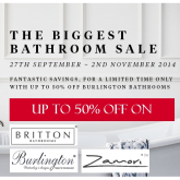 Biggest ever sale now on at P&D Heating and Bathrooms, Bolton
