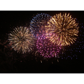 Firework Displays in Wimbledon 2014