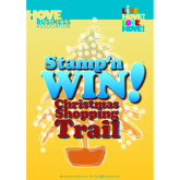 'Stamp'n WIN' in Hove & Portslade - The Christmas Shopping Trail