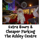 Extra Hours And Cheaper Parking At The Ashley Centre Epsom @Ashley_centre #christmas