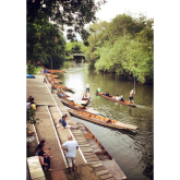 Where to hire a Punt in Oxford