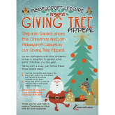 Giving Tree Appeal at Haverhill Leisure Centre