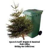 Bin Collections Over Christmas & New Year #Epsom #Ashtead #Banstead