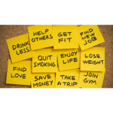 Hints and tips on setting and sticking to New Year Resolutions