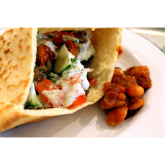 It's all about the pitta club at The Fat Greek Taverna! Worthing