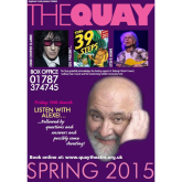 What's Happening At The Quay Theatre - March