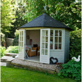 Extend your house into the garden with a unique summerhouse