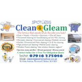 Handyman Services from Clean4Gleam