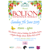 Applications for handmade traders now open for Bolton Handmade Market!