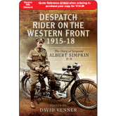 Diary of a WWI Despatch Rider Book Launches in North Devon