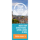 Show your support for Stratford upon Avon - please vote!