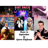 Great Choice of Music This September @EpsomPlayhouse #supportyourlocaltheatre