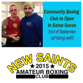 New Community Boxing Club to open in Eaton Socon - SEPT UPDATE - LOCAL BUSINESSES SHOW THEIR SUPPORT