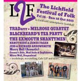Look what's on in Lichfield on the weekend of 16th to 18th October 2015.