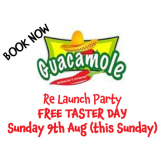 Love Food ?? Free Mexican Food / Taster Day - Guacamole Mexican Restaurant St Neots