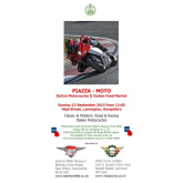 Lymington Piazza Moto 2015 – Motorcycles and Italian Food Market