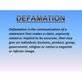 Defamation On Social Media Is Growing.