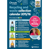 New waste and recycling collection calendar for Watford 2015/16