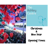 The Ashley Centre #Epsom Holiday Opening Times @Ashley_centre