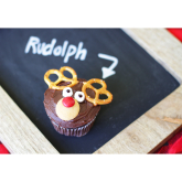 CHRISTMAS BAKE OFF- How to make Reindeer cupcakes?