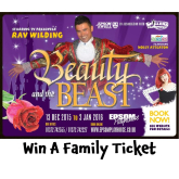 Win Tickets for Beauty & The Beast the #ChristmasPanto @EpsomPlayhouse #Epsom