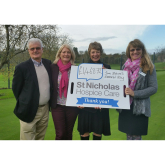Haverhill Golf Club raises over £1000 for St Nicholas Hopsice