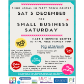 Small Business Saturday is on Saturday 5 December this year