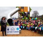 Play areas at Hednesford Park officially opened