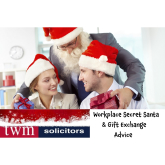 Secret Santa: What you can/can't give your colleagues - Advice from @TWMSolicitors